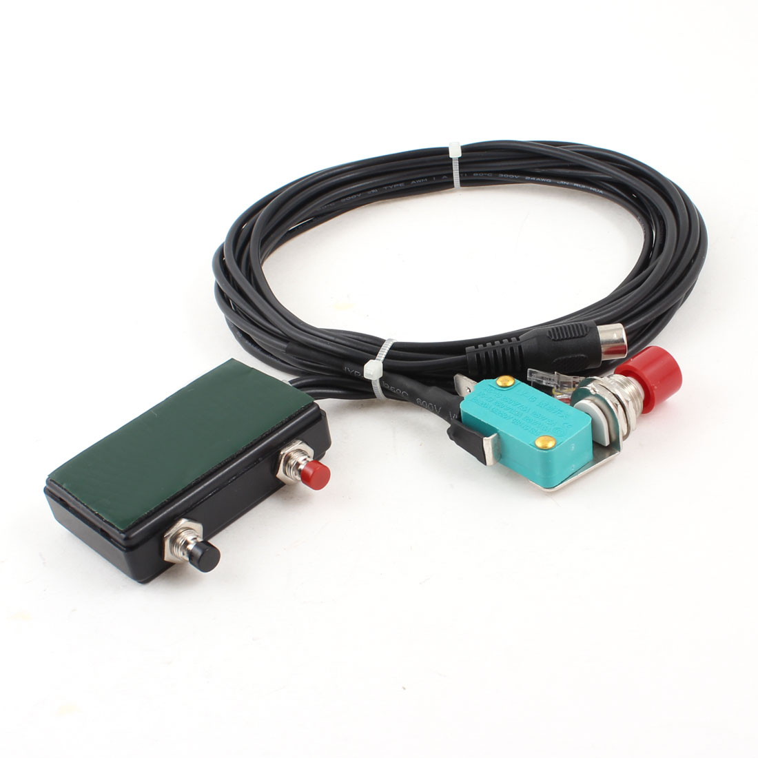 RJ45-Crystal-Head-Vehicle-Handsfree-Microphone-for-YAESU-FT-1802-Two-Way-Radios