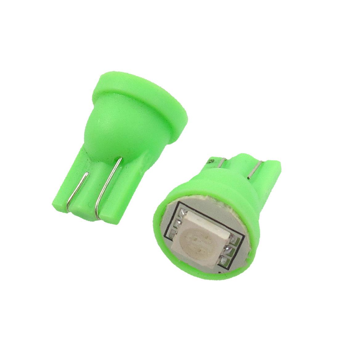 2-Pcs-T10-Wedge-Green-5050-SMD-LED-Brake-Side-Lamp-Bulbs-for-Car