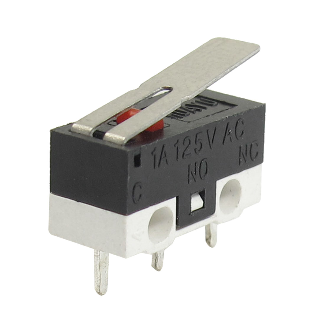 10-Pieces-AC-125V-1A-SPDT-1NO-1NC-Momentary-Long-Hinge-Lever-Micro-Switch