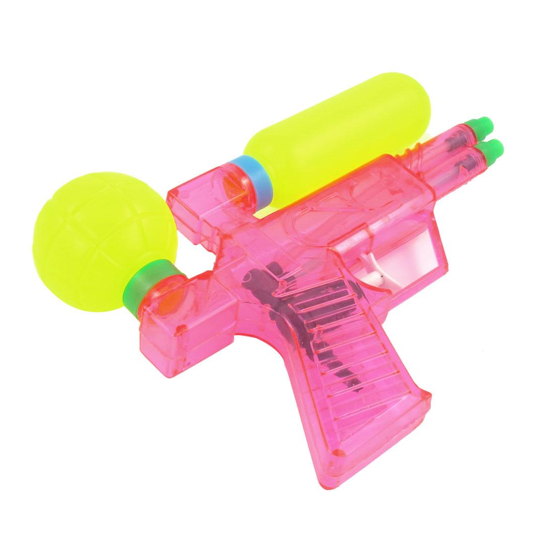 Yellow-Pink-Trigger-Rocket-Water-Spray-Squirt-Gun-Toy-for-Child