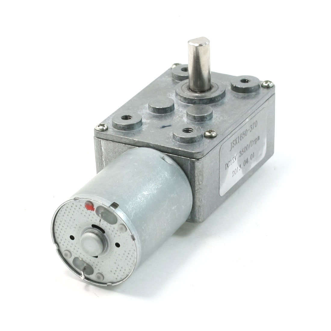 3500-2RPM-Output-Rotating-Speed-2-Pin-6mm-Drive-Shaft-Geared-Motor-DC-12V-Volts