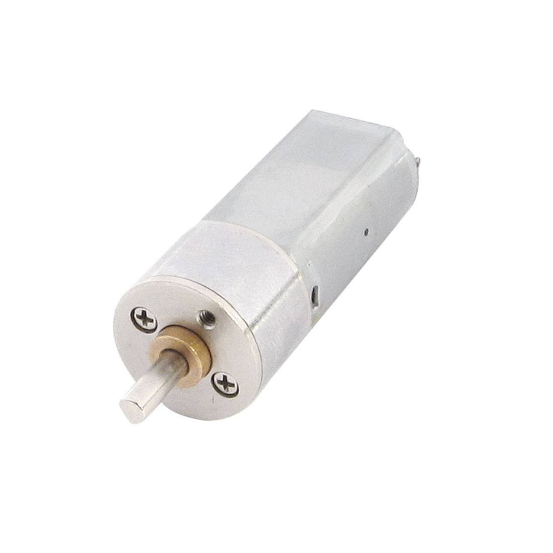 3mm-Dia-Shaft-2-Pin-Terminals-Magnetic-Electric-Geared-Motor-DC-12V-1000RPM