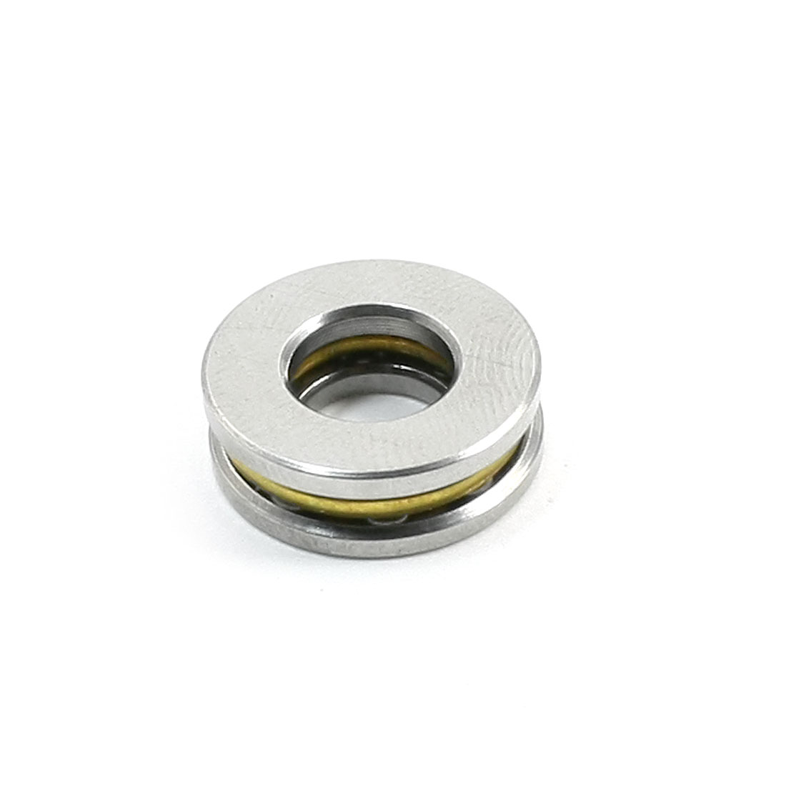 Spare-Parts-15mm-x-7mm-x-5mm-Silver-Tone-Ball-Thrust-Bearing