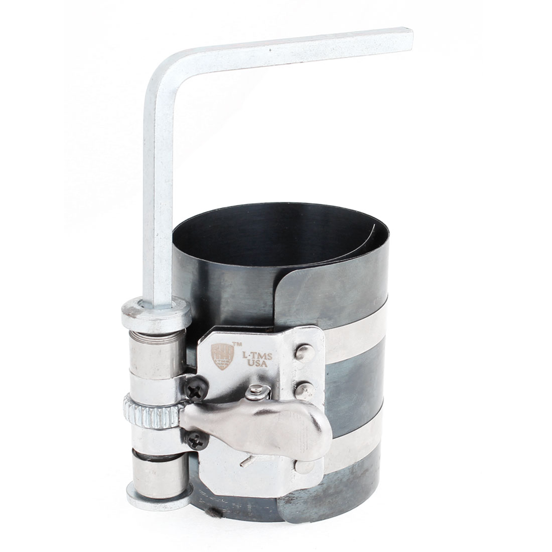 Unique Bargains Replaceable Metal Piston Ring Compressor 53mm-125mm Capacity for Car Auto