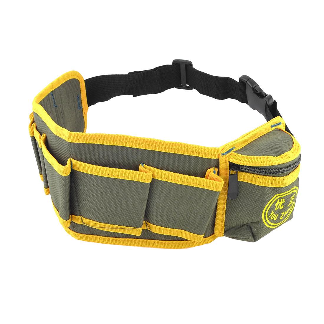 Electrician-Carpenter-Adjustable-Waist-Strap-Tool-Belt-Bag-Holder
