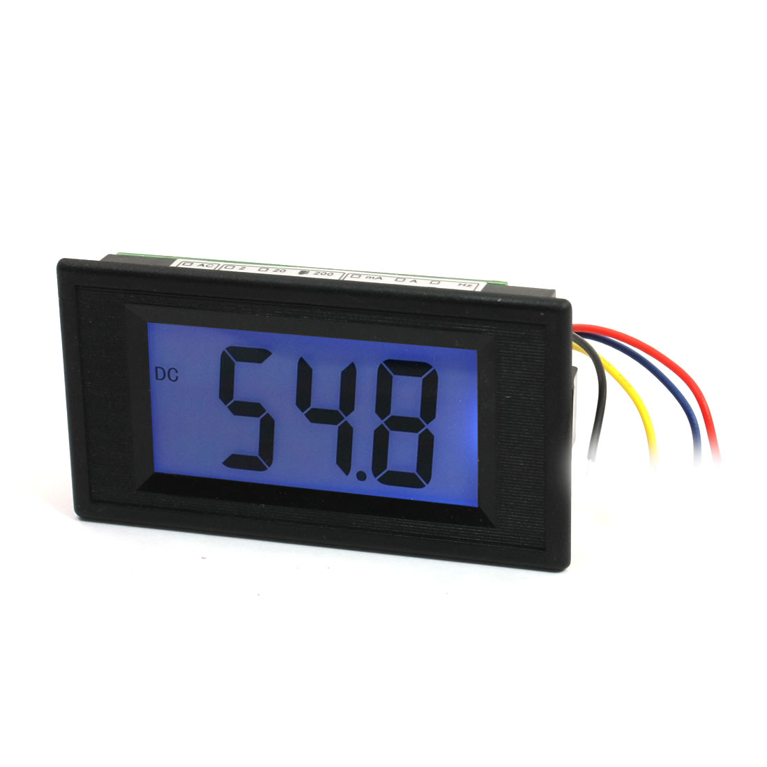 Blue-LCD-Display-3-Digits-DC-0-200mV-Digital-Panel-Voltmeter