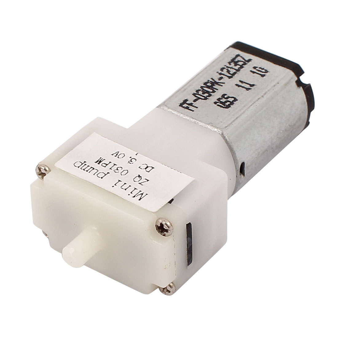 White-Plastic-Micro-Mini-Pump-KPM14A-3D-DC-3V-090924C-Air-Pump-Motor