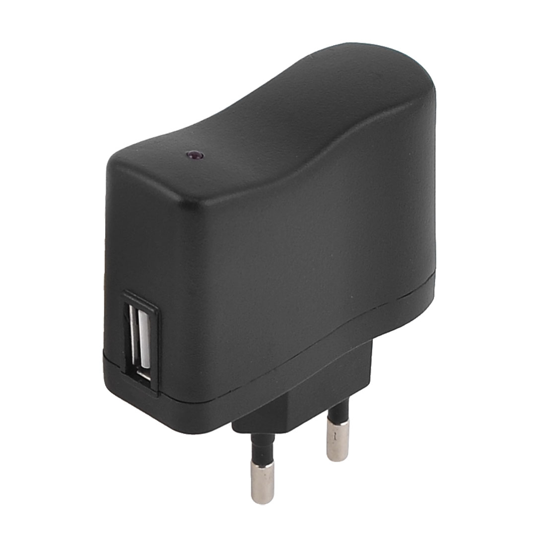 EU-Plug-to-USB-Port-Wall-AC-Charger-Adapter-AC-100-240V-50-60Hz-0-1A