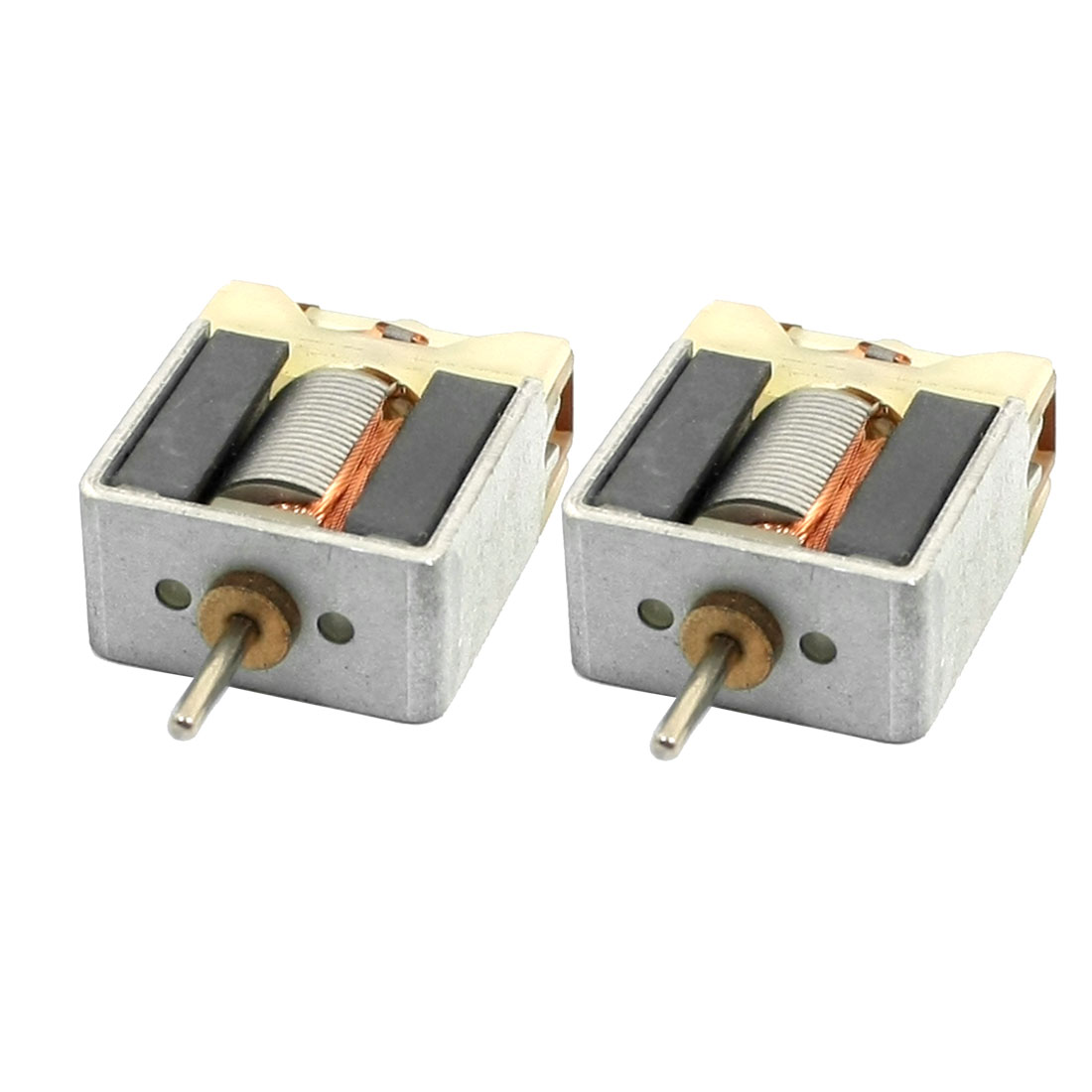 2PCS-22x18x10mm-DC6V-15000RPM-Bare-Magnetic-Carbon-Brush-Micro-Motor
