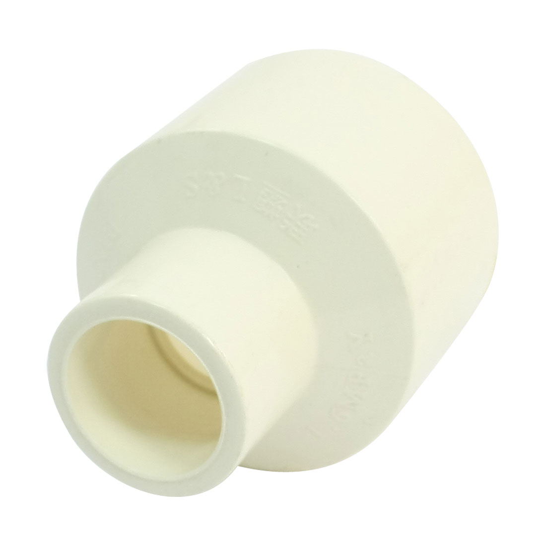 White-PVC-Pipe-Reducing-Coupling-Straight-Coupler-Connector-40mm-x-20mm