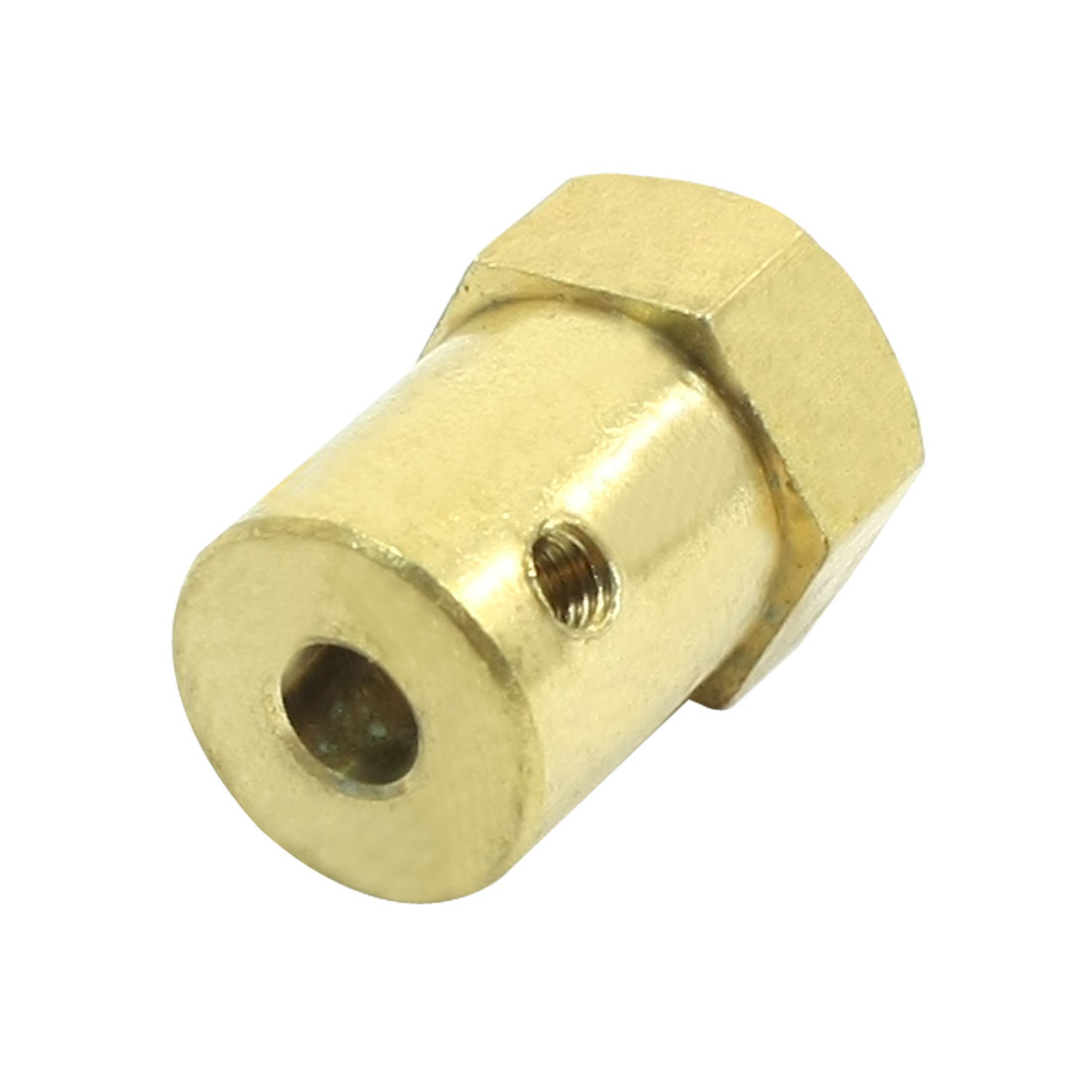 4mm-Shaft-Dia-DC-Geared-Motor-to-Robot-Small-Car-Wheels-Hex-Coupler