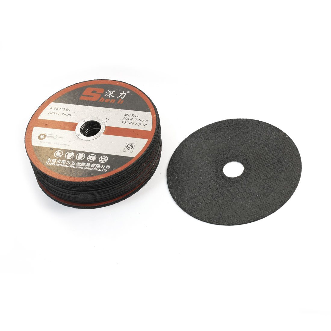105mm-OD-16mm-Inner-Dia-13700RPM-72m-s-Speed-Polishing-Cut-Off-Wheel