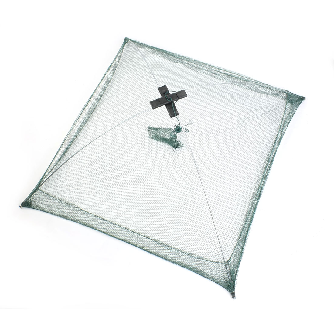 Angler-Angeln-Krabbe-Mesh-Koeder-Regenschirm-Dip-Net-75cm-x-75cm