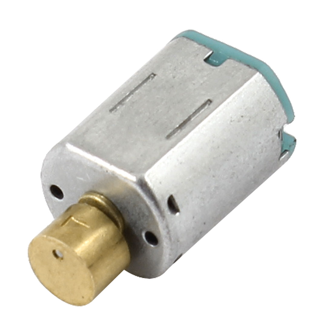 Silver-Tone-Shell-Mini-Vibrating-Vibration-Motor-DC-3-4V-5000RPM