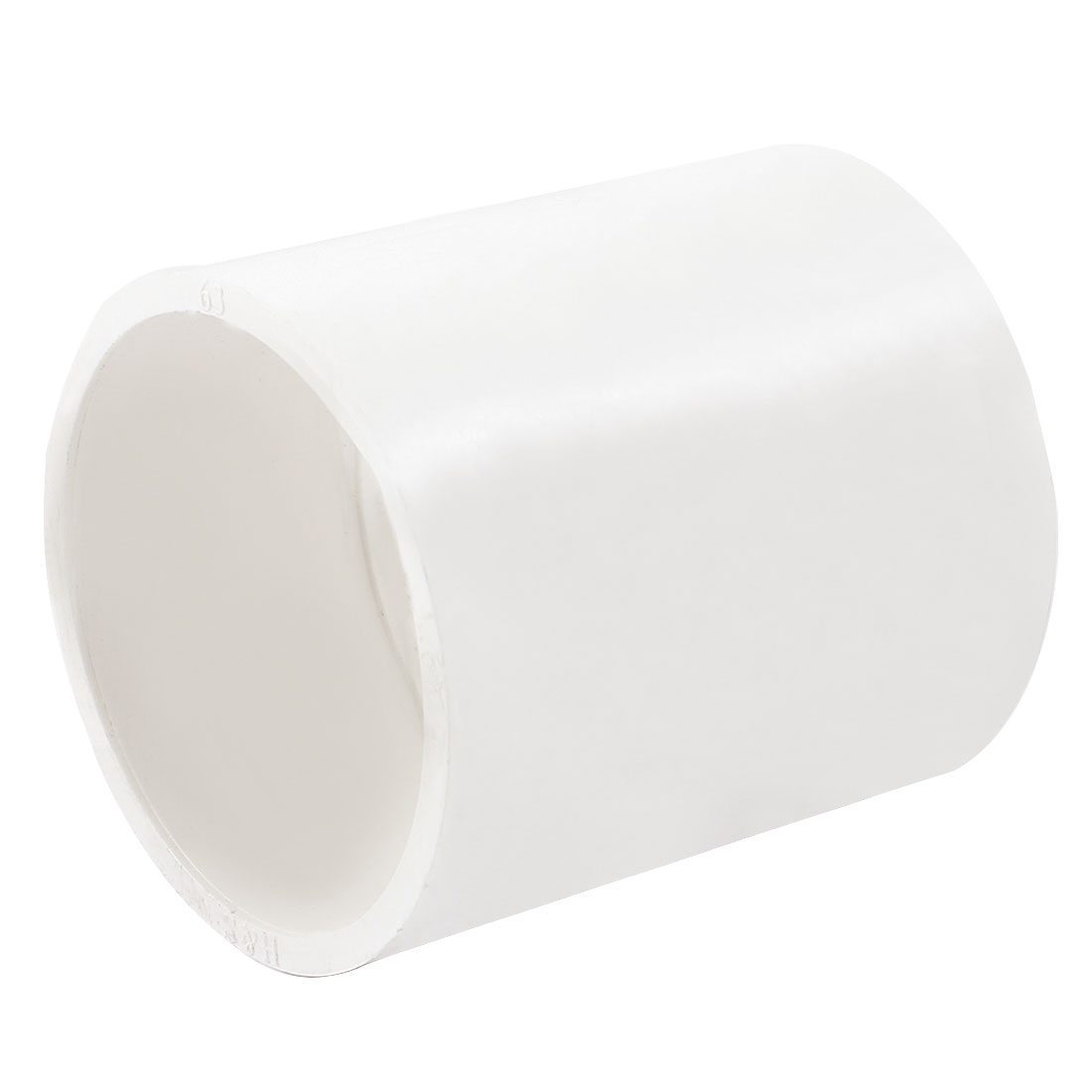 Replacement-White-63mm-Inner-Diameter-PVC-Straight-Pipe-Connector