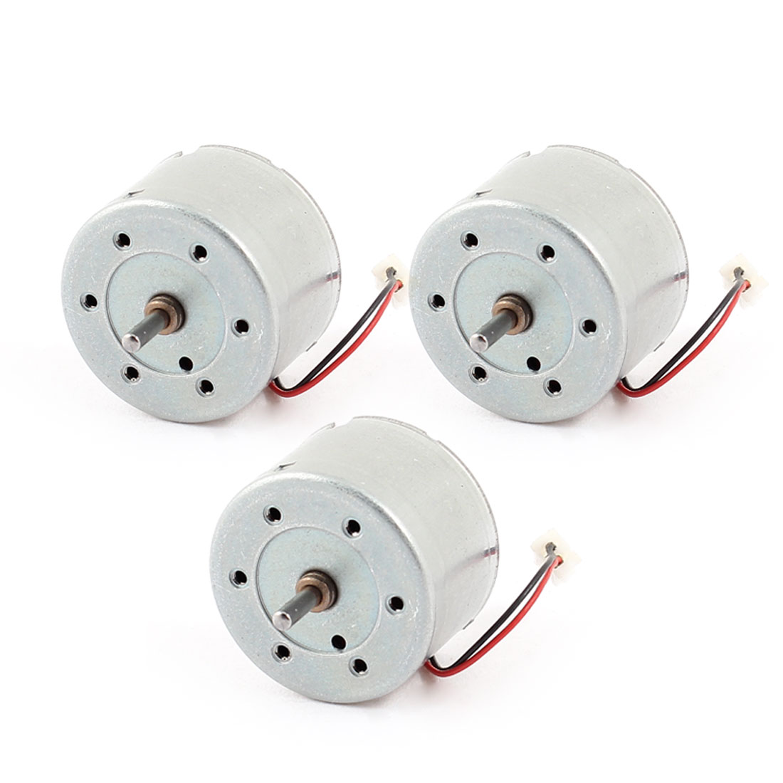 3000RPM-Speed-High-Torque-Cylinder-Shape-Electric-DC-Geared-Motor-6V-3Pcs