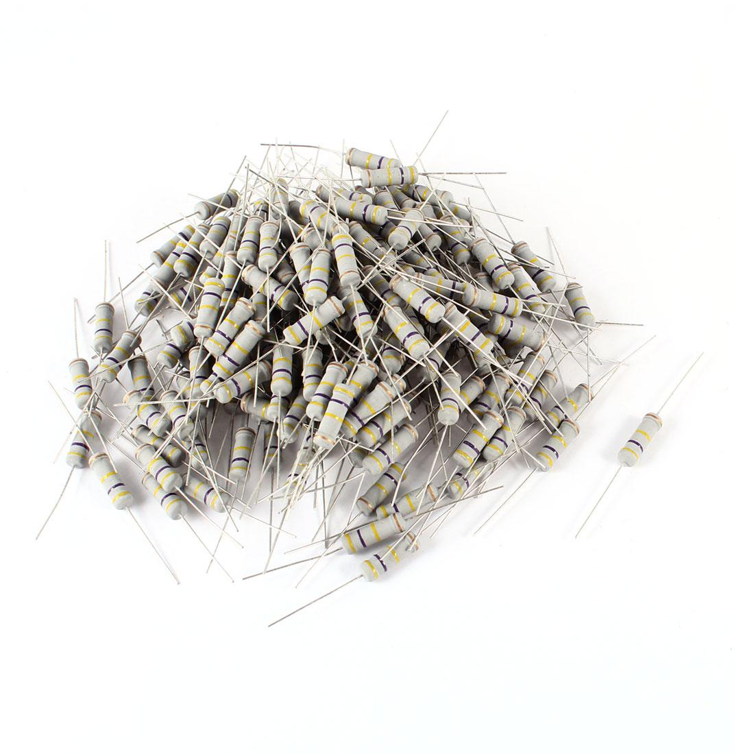 200-Pieces-470K-Ohm-5-2-Watt-Axial-Leads-Metal-Oxide-Film-Resistor
