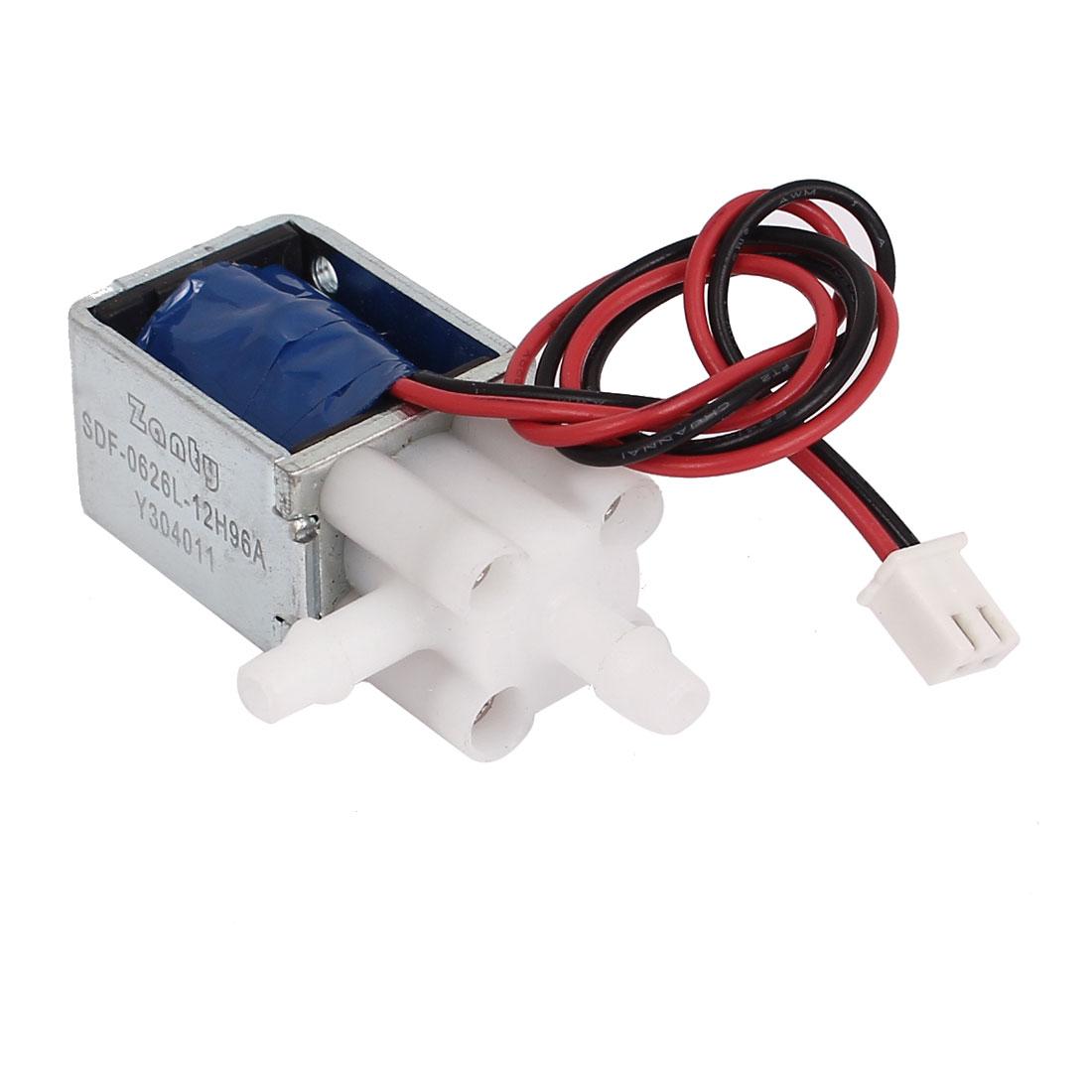 8-2-Pin-Connecting-2-Outlet-Electromagnet-Solenoid-Valve-DC-12V-1-5W