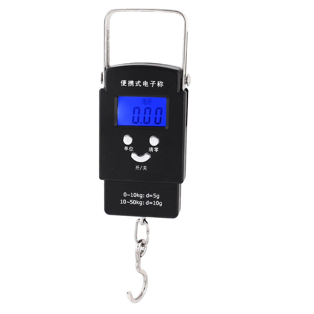 Unique Bargains 10Kg x 1g Kitchen Digital Electronic Portable Weight Scale Kg oz lb g