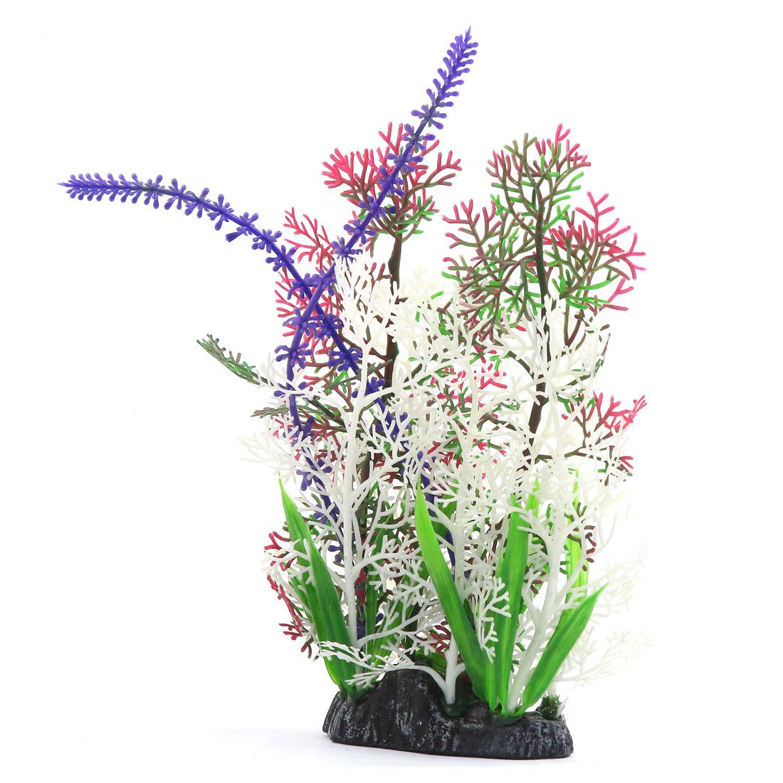 Multi-couleur Plante en plastique Paysage aquatique Décoration d'aquarium 3