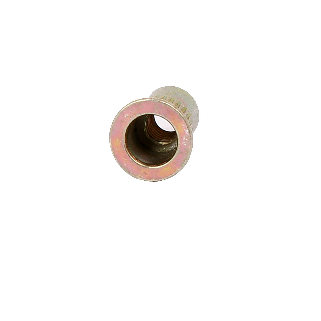 M4-x-11mm-Knurled-Flat-Head-Rivet-Nut-Embedment-Insert-Nutsert-500PCS