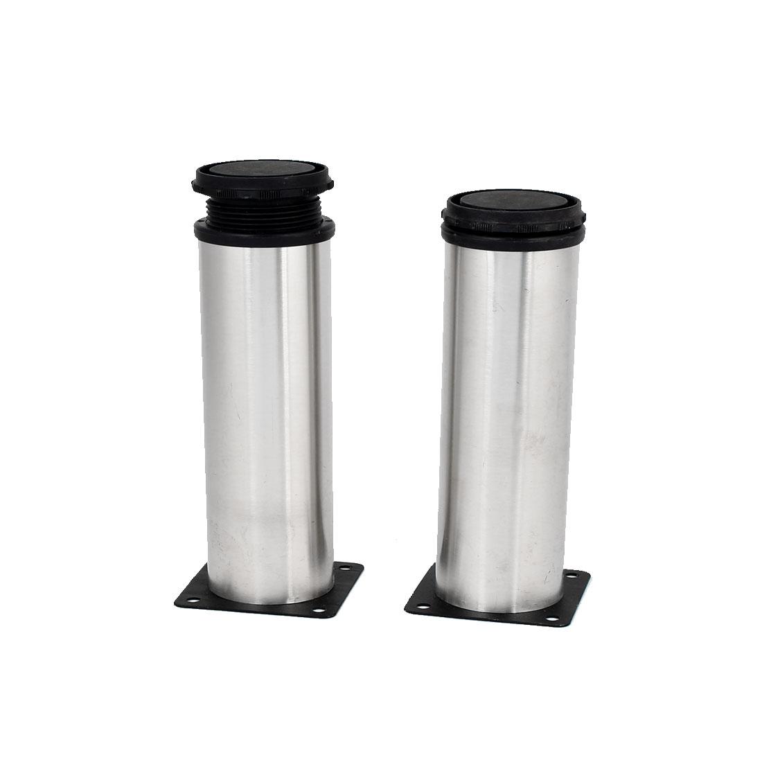 Kitchen-Cabinet-Cupboard-50mmx150mm-Metal-Adjustable-Furniture-Leg-Foot-4pcs