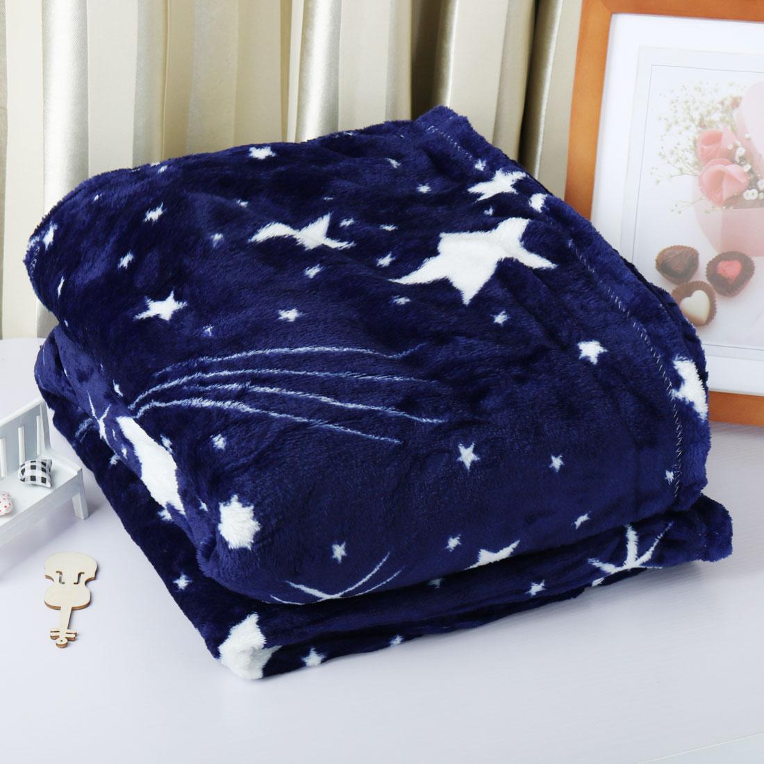 Luxury Warm Soft Large Fleece Sofa Bed Blanket Throw