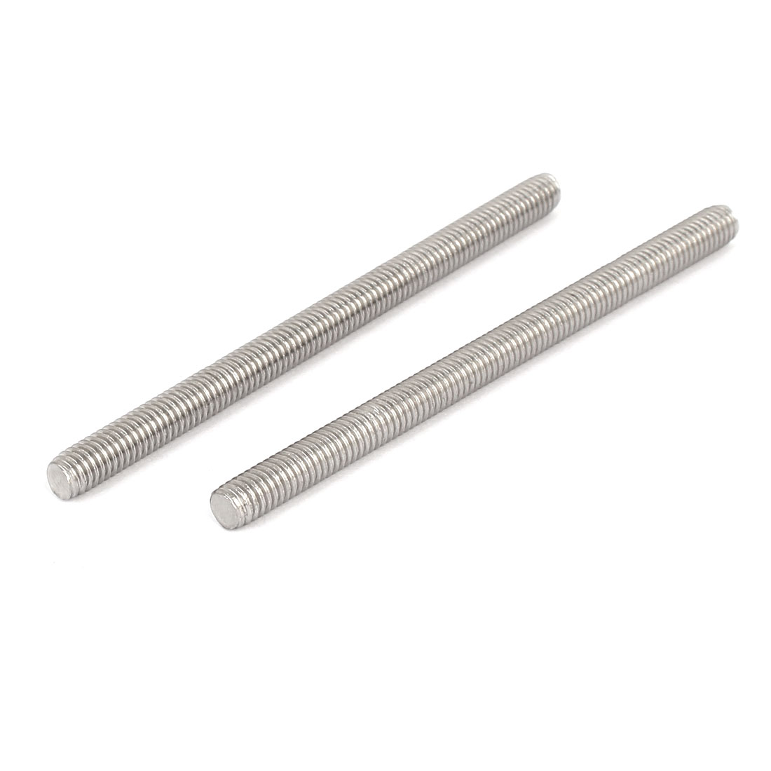 M6-x-90mm-304-Stainless-Steel-Fully-Threaded-Rod-Bar-Studs-Fastener-10-Pcs