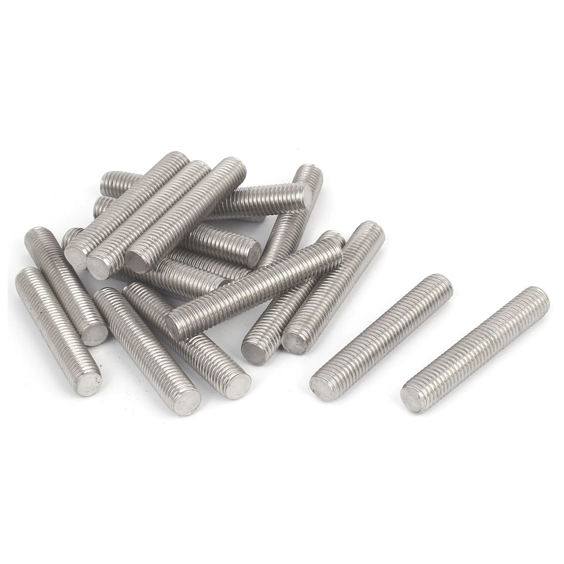 M12-x-70mm-304-Stainless-Steel-Right-Hand-Thread-Fully-Threaded-Rod-Stud-20PCS