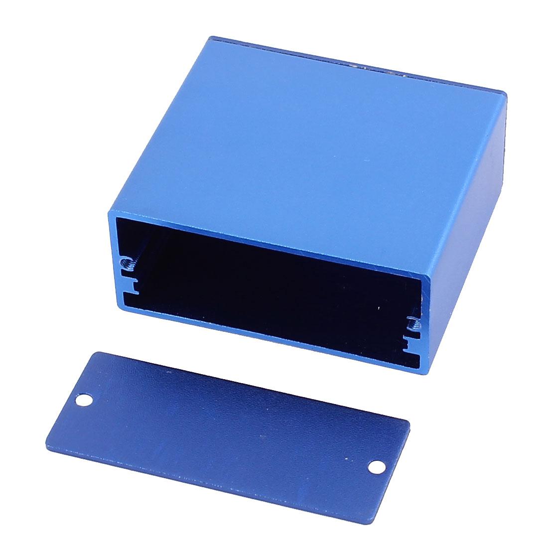 58-x-53-x-24mm-Multi-purpose-Extruded-Aluminum-Enclosure-Electronic-Box-Blue