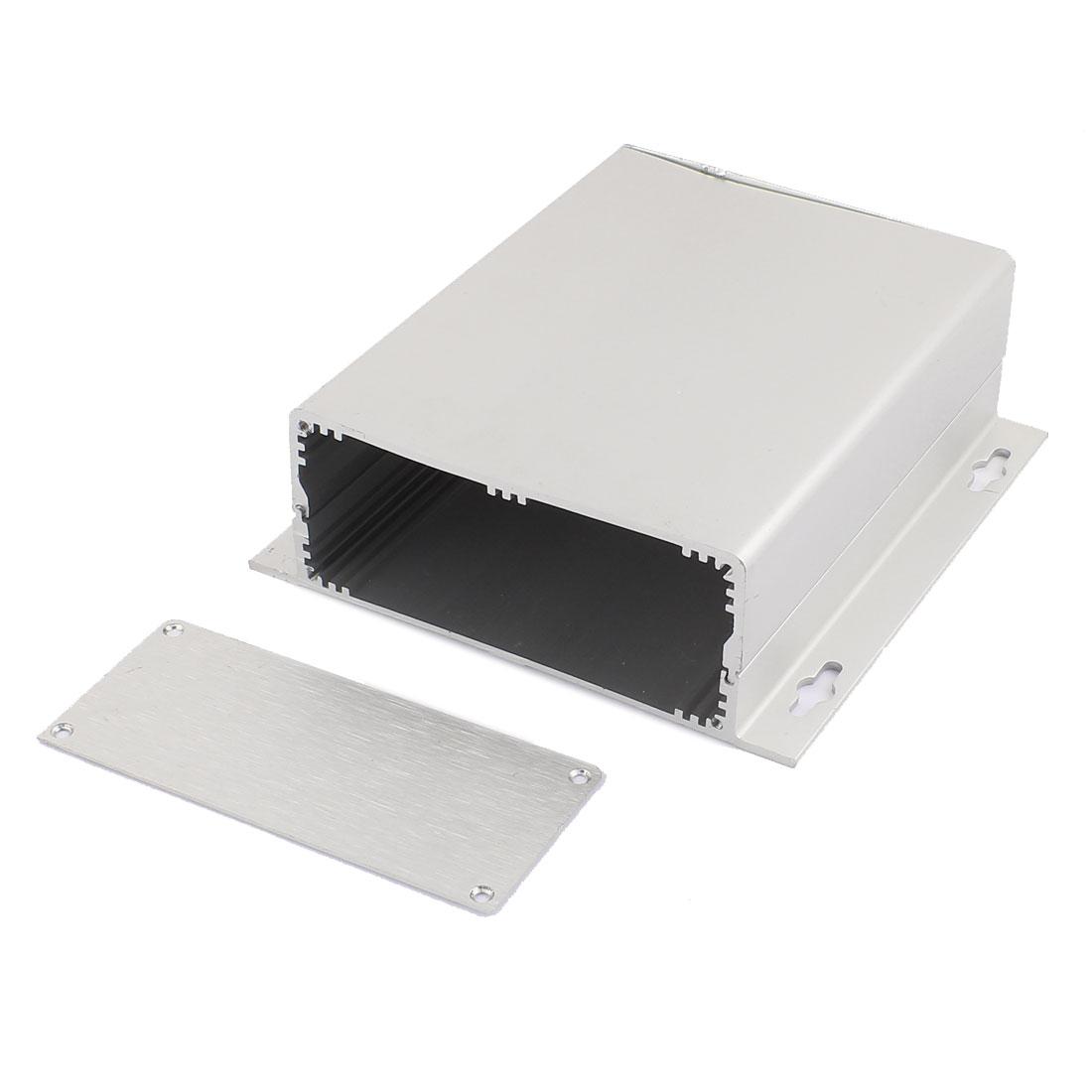 158x150x52mm-Multi-purpose-Electronic-Extruded-Aluminum-Enclosure-Silver-Tone
