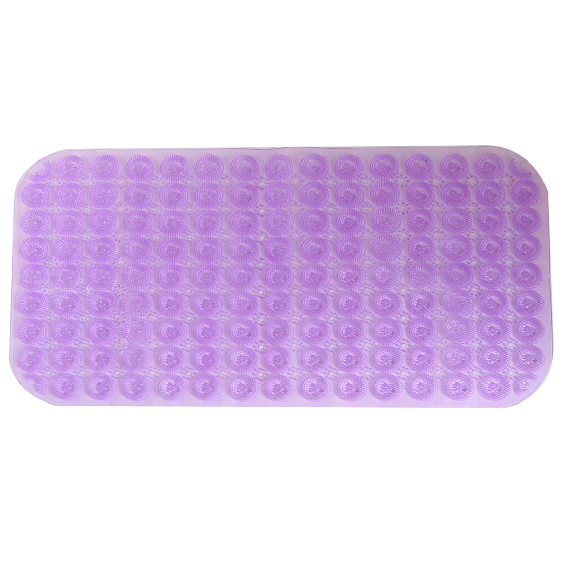 Salle-bains-PVC-anti-derapant-Motif-fleur-Tapis-bain-douche-Violet-70cm-x-38cm