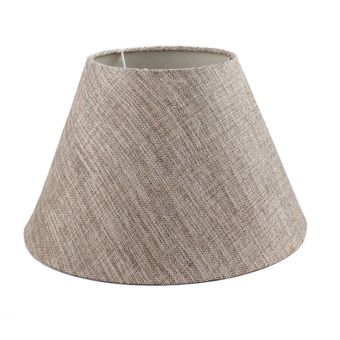 150mm x 300mm x 190mm Brown Fabric Shell Lamp Shade for Student Reading Lamp