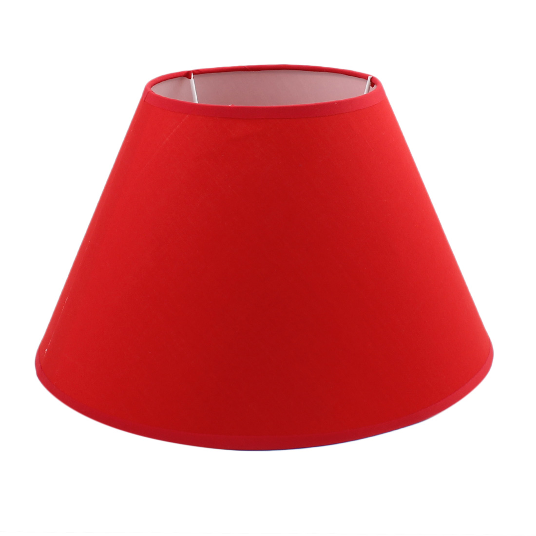 150mm x 300mm x 190mm Red Fabric Shell Lamp Shade for Student Reading Lamp