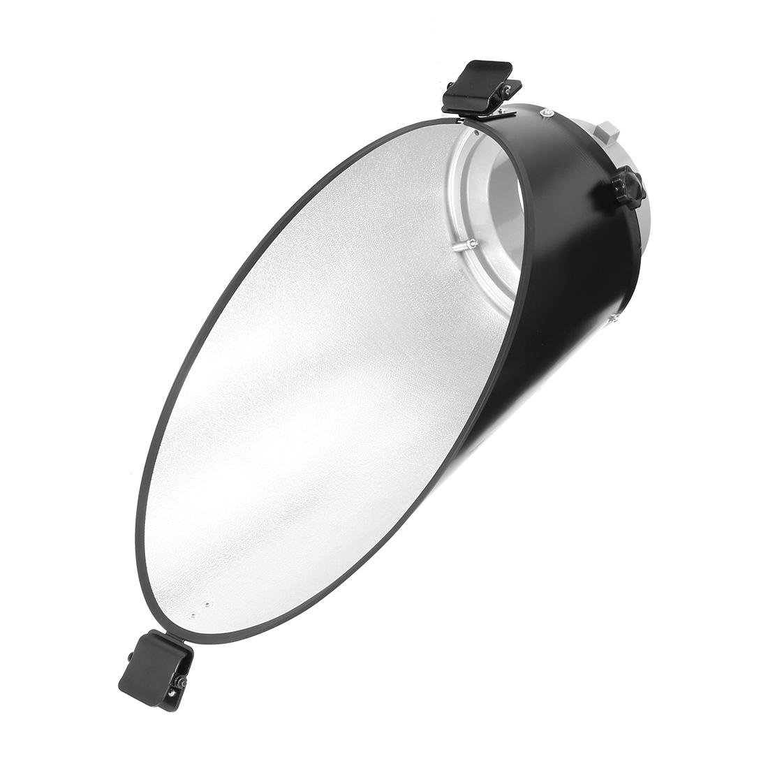 Oblique Reflector Diffuser Dish Lamp Shade for Studio Light Fade-away