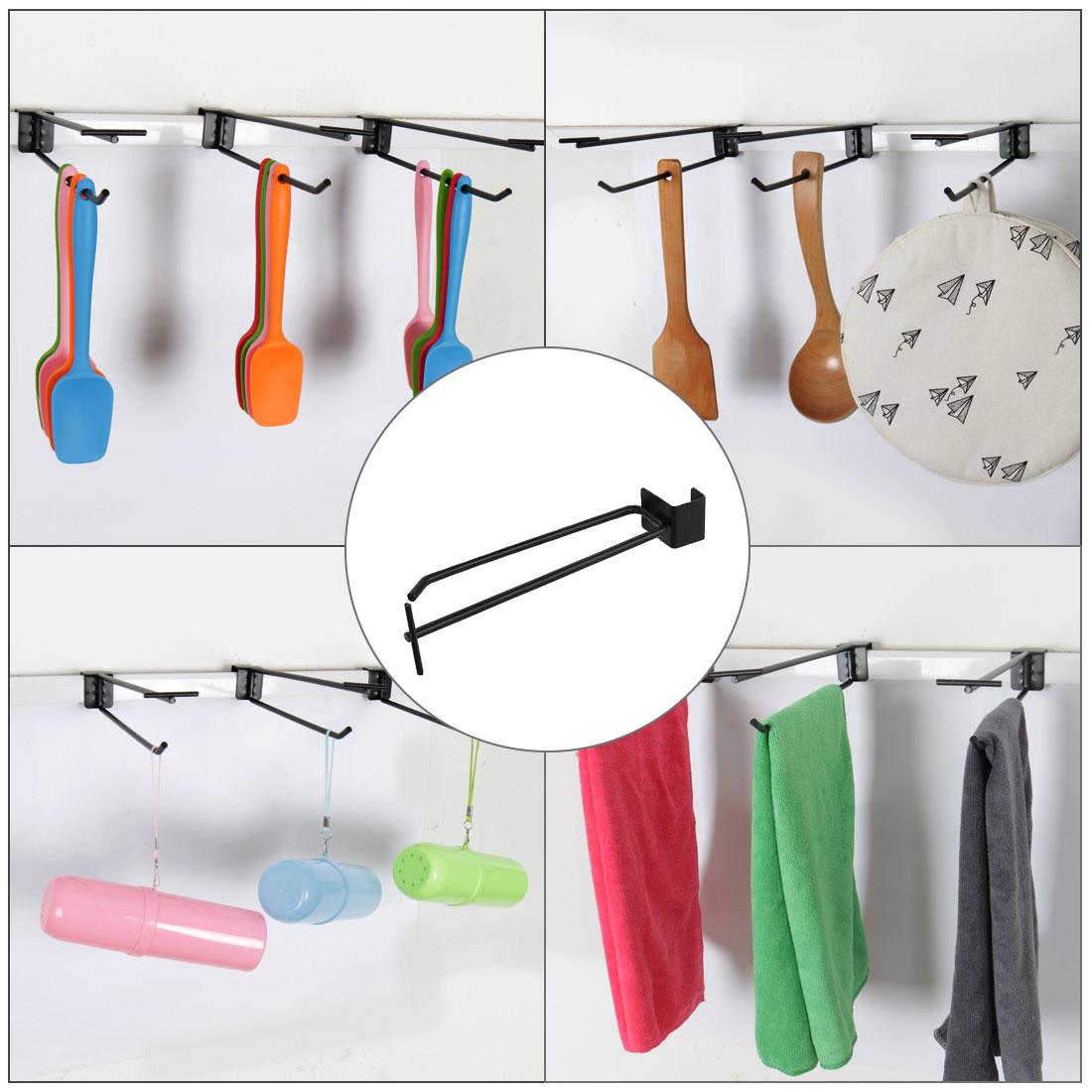 Slat-Wall-Flip-Scan-Hooks-9-1-034-Length-Metal-for-Shop-Retail-Display-Organizer thumbnail 9