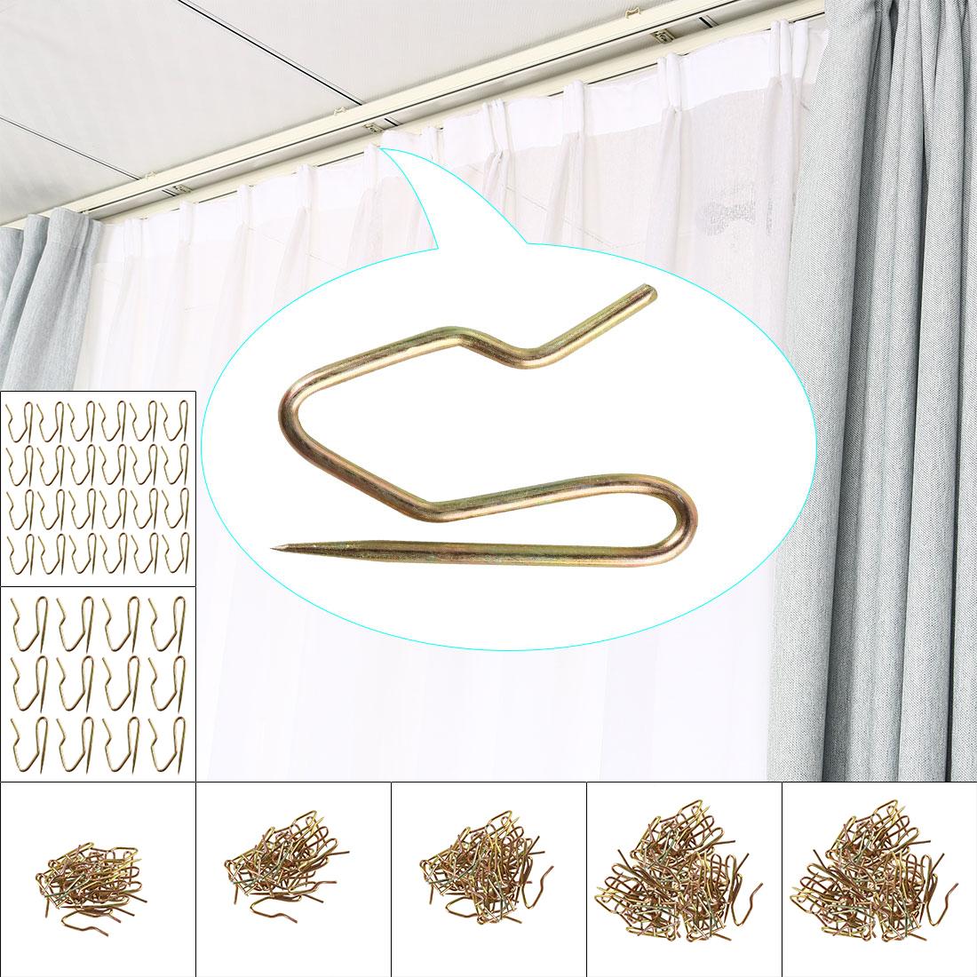 Home Metal Shower Curtain Hook Drapery Hooks Rings Clip Bath
